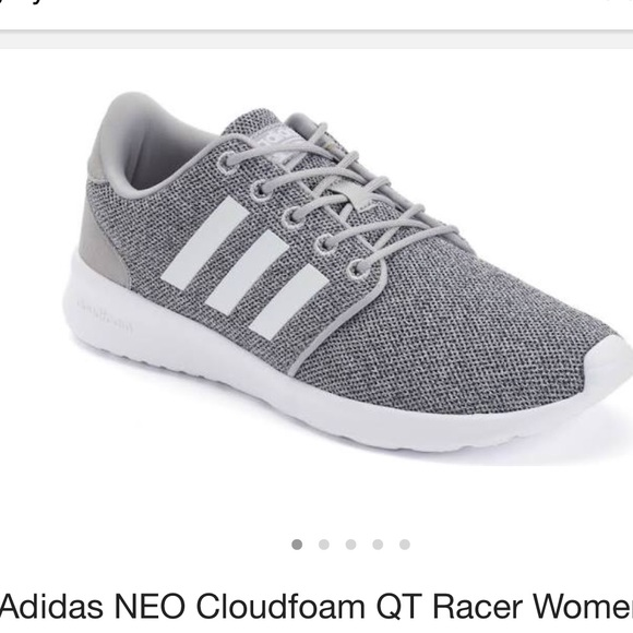 le adidas grey neo cloudfoam scarpe poshmark